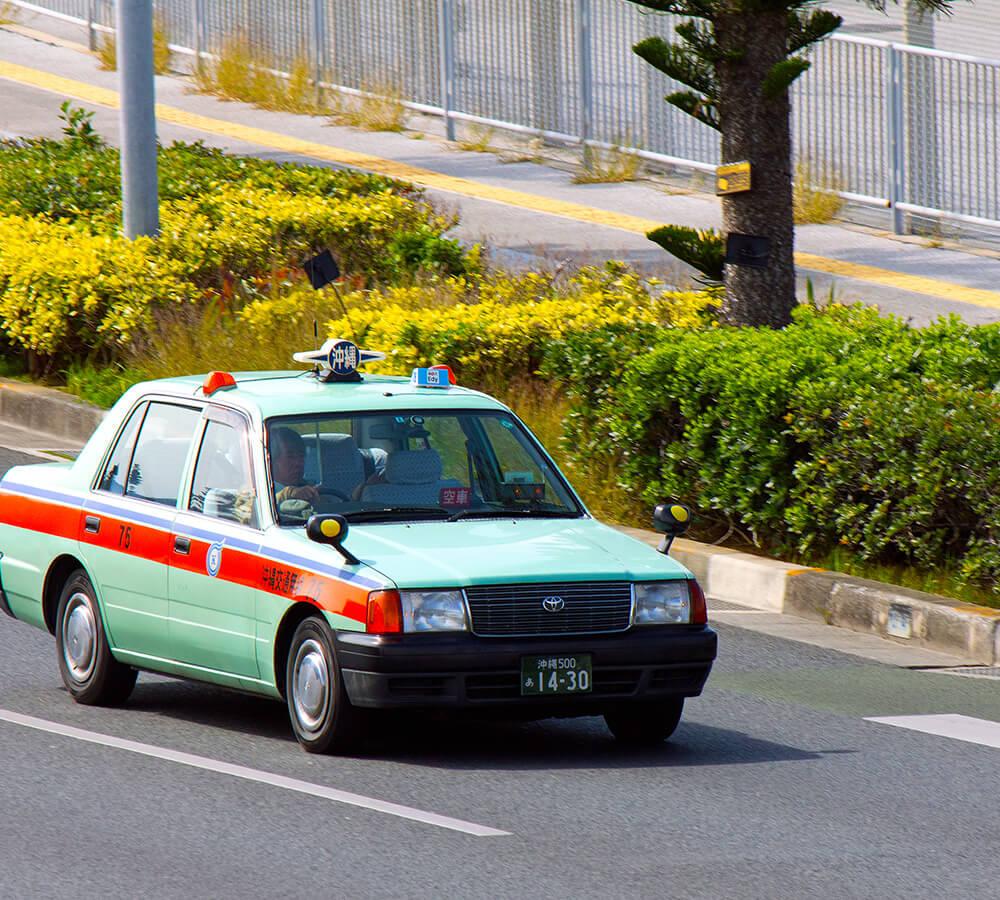 Taxi   VISIT OKINAWA JAPAN
