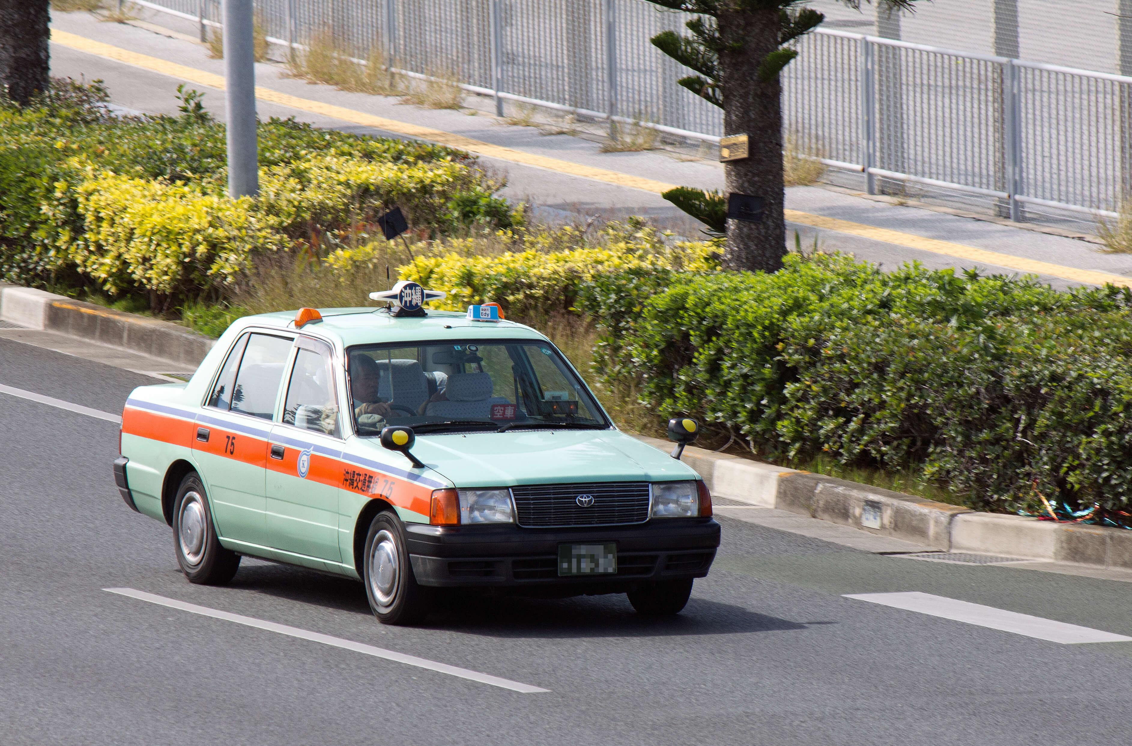 public transportations taxi