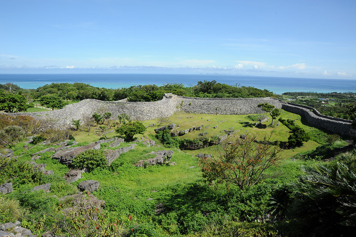 UNESCO World Heritage Site: Nakijin Castle