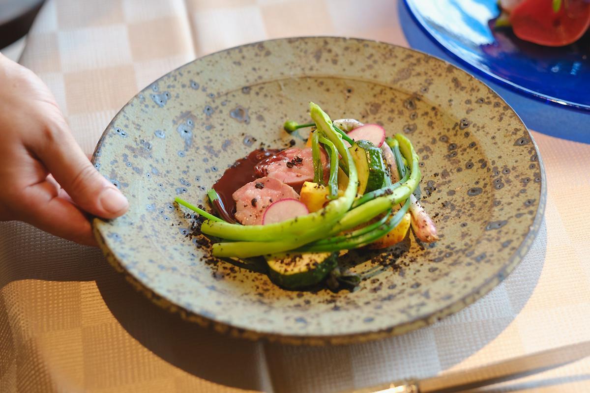 the restaurant at Hiramatsu Hotels & Resorts Ginoza