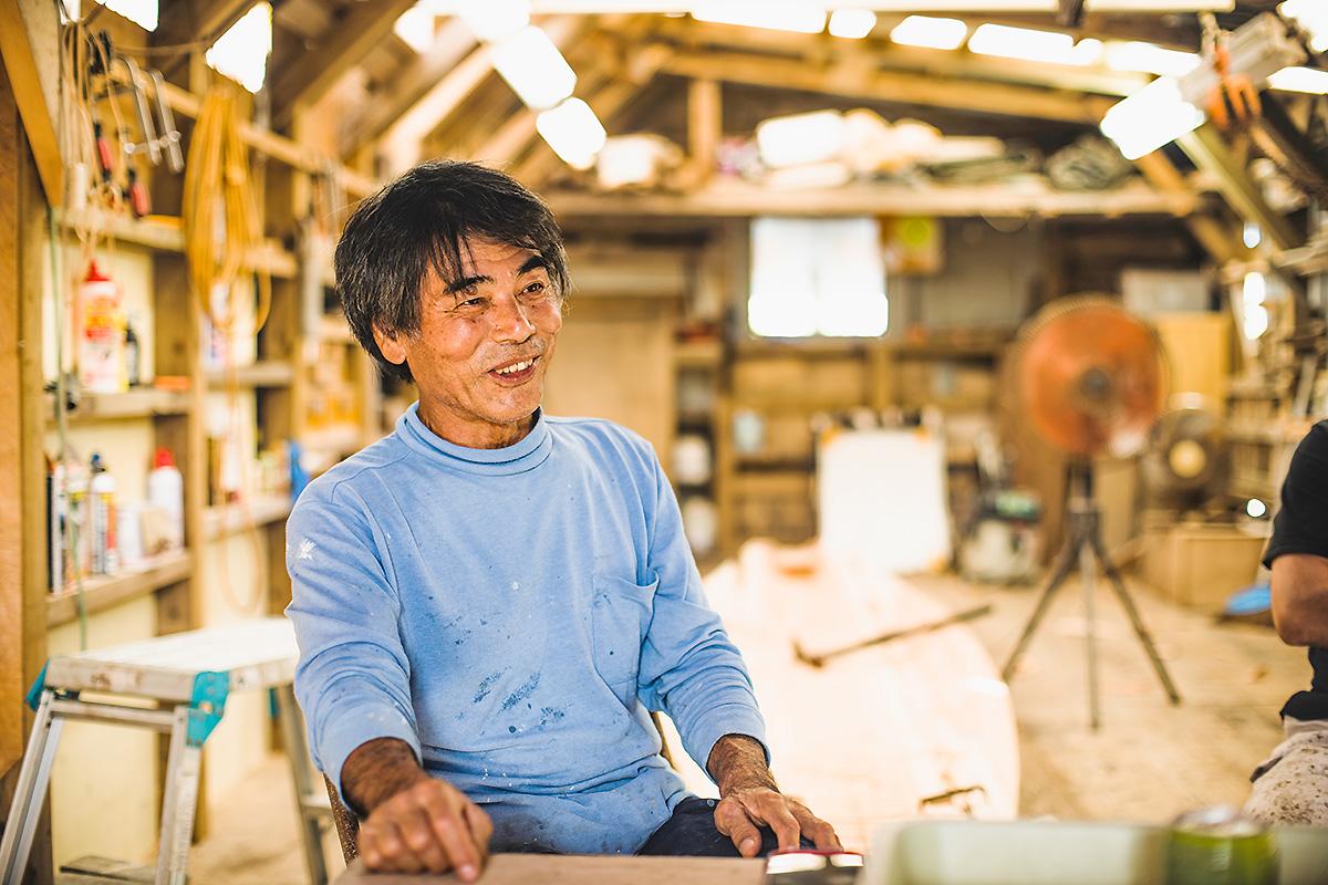 sabani master craftsman Oshiro Kiyoshi